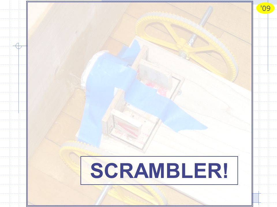 09 Scrambler 2009# 1 SCRAMBLER!