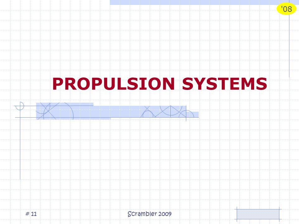 08 Scrambler 2009# 11 PROPULSION SYSTEMS