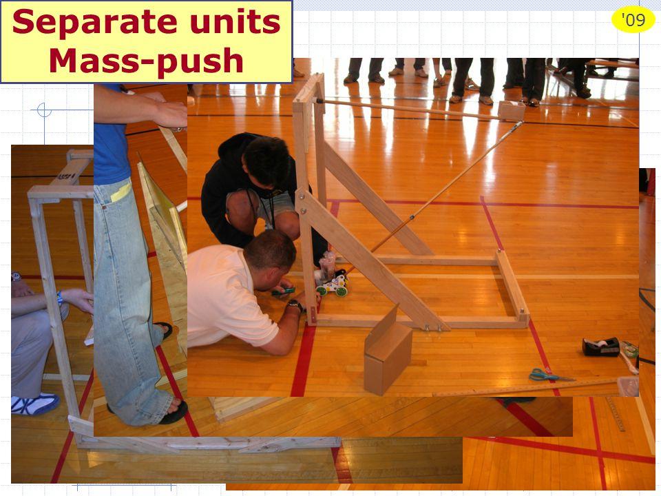 09 Scrambler 2009# 13 Separate units Mass-push