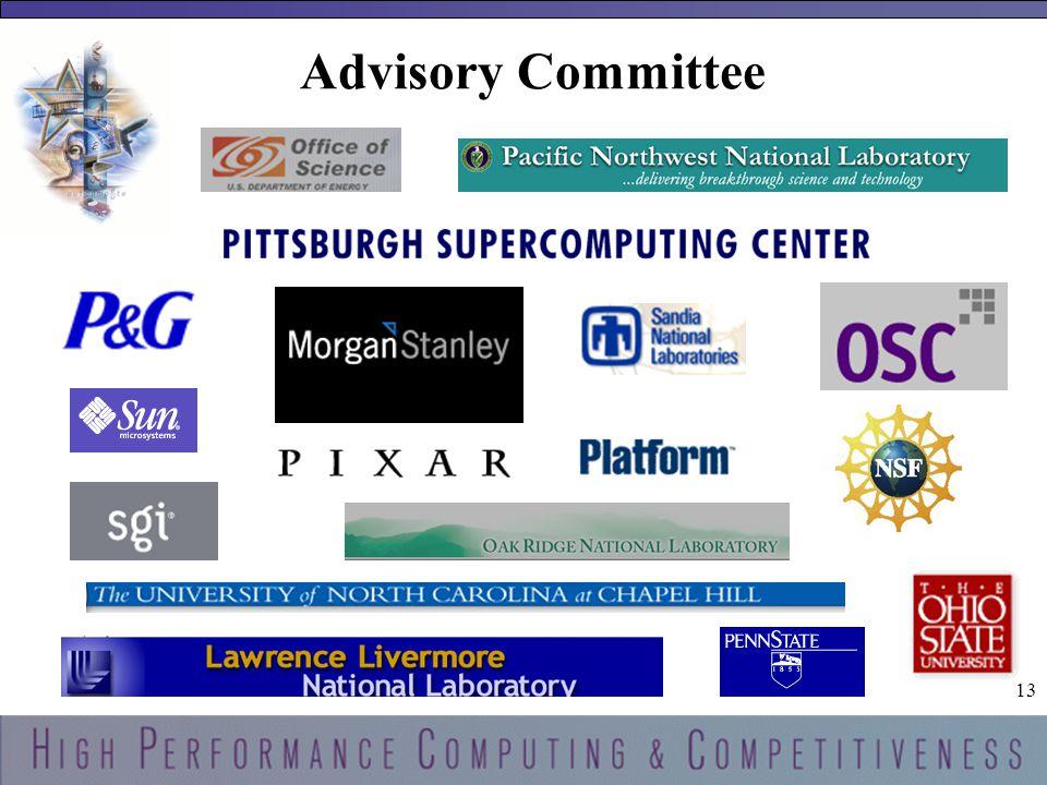 13 Advisory Committee