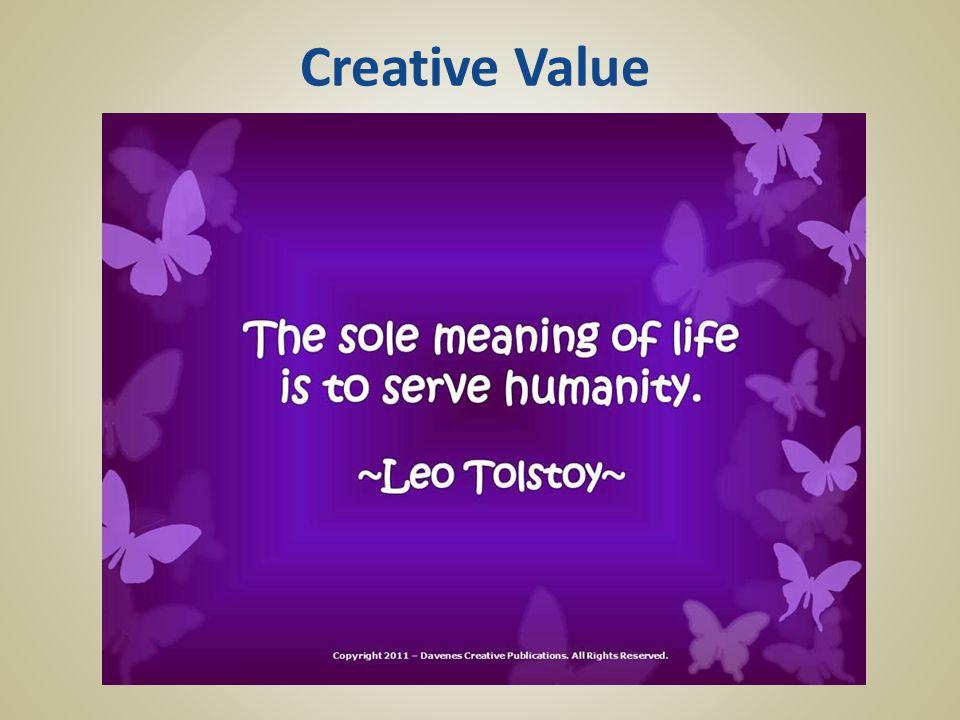 Creative Value
