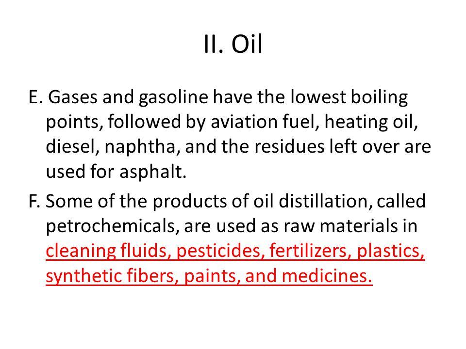 II.Oil E.