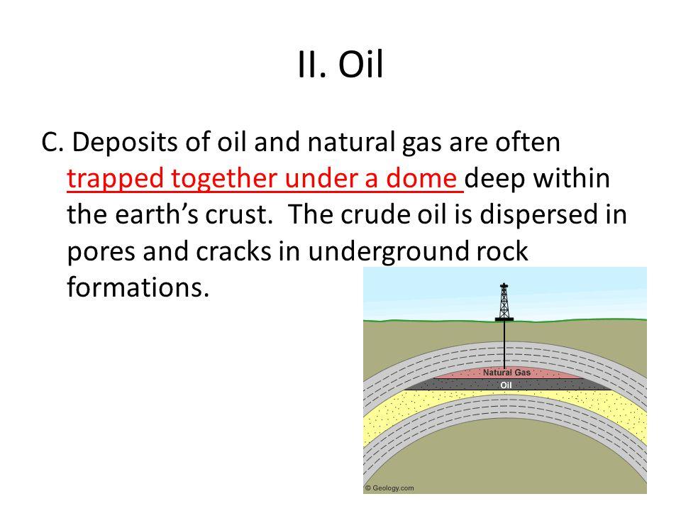 II.Oil C.