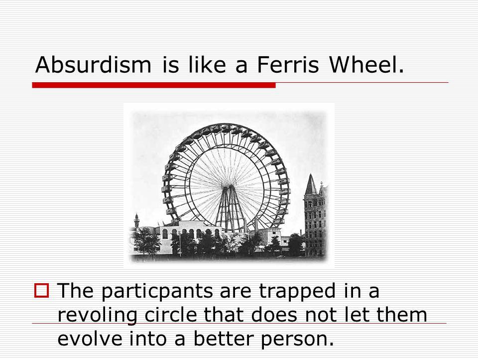 Absurdism is like a Ferris Wheel.