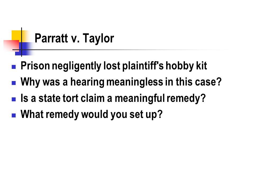 Parratt v.