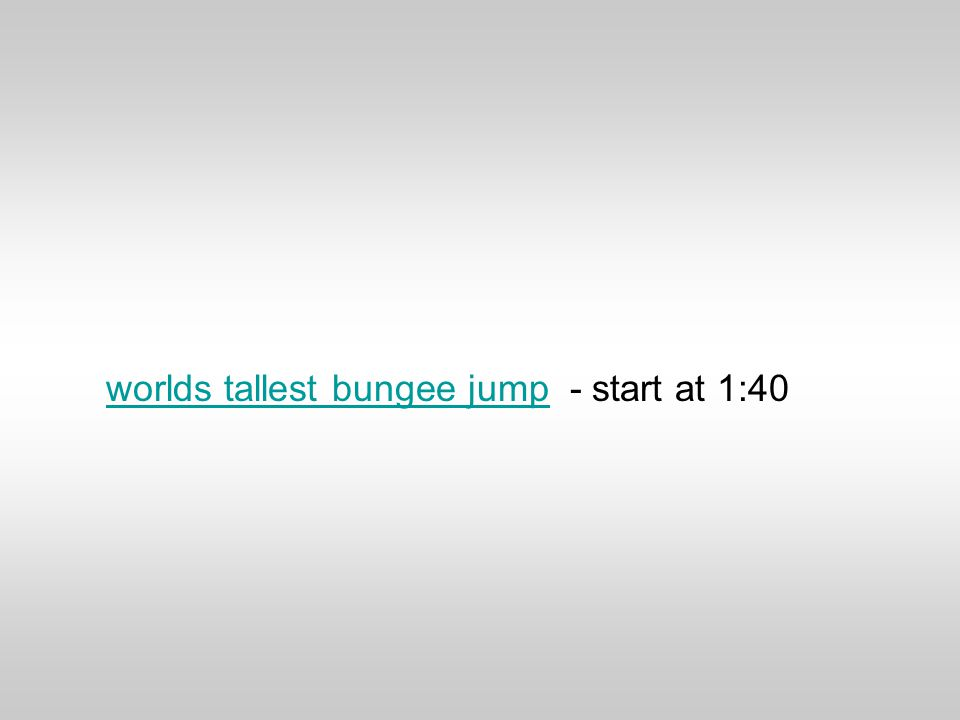 worlds tallest bungee jumpworlds tallest bungee jump - start at 1:40