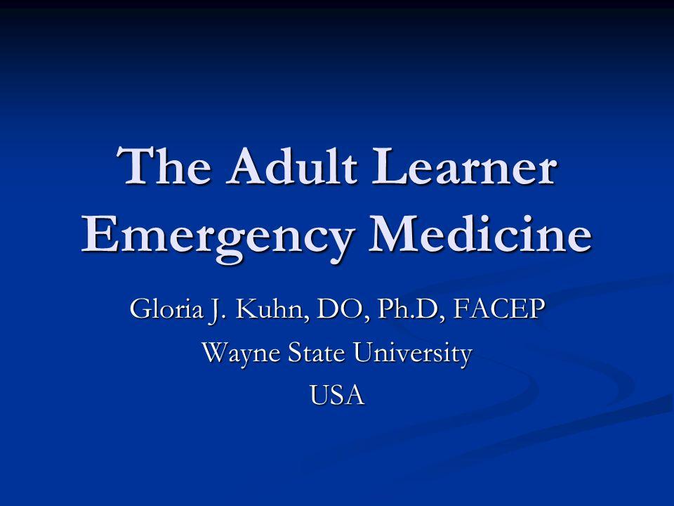 Emergency Physicians Gather Information Gather Information Gather Information