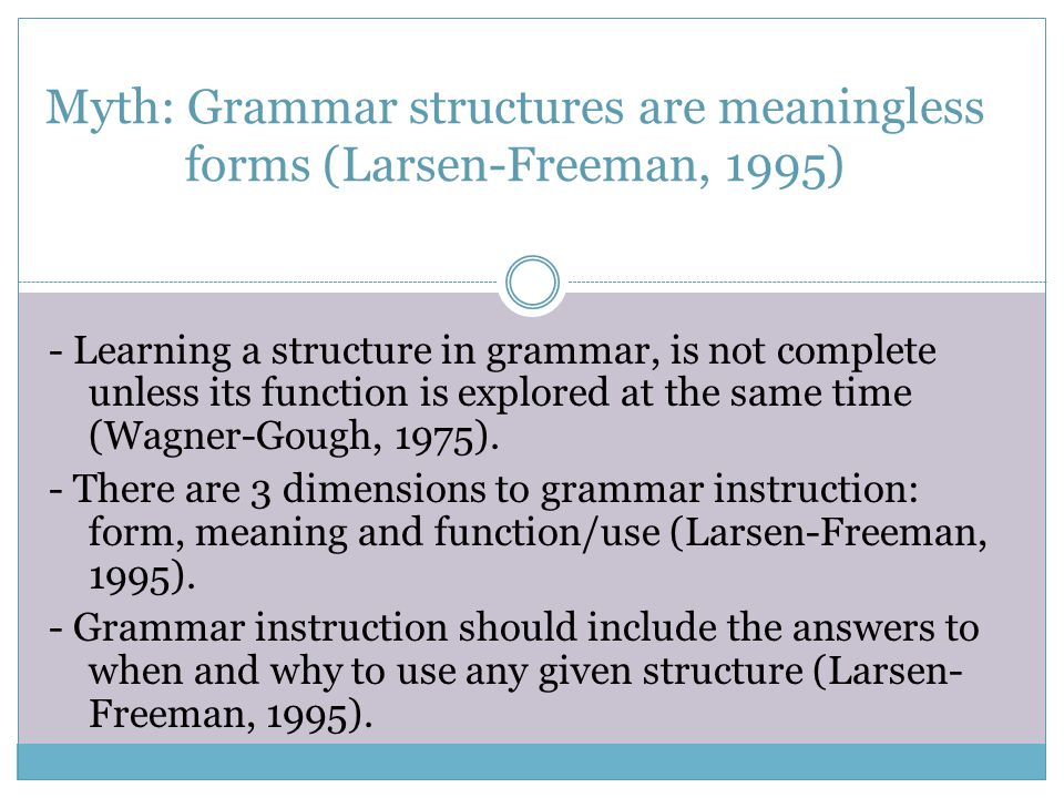 Advantage of Focus on Form: The learner's attention is drawn precisely to a linguistic feature as necessitated by a communicative demand (Doughty & Williams, 1999, p.