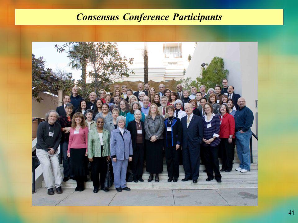 41 Consensus Conference Participants