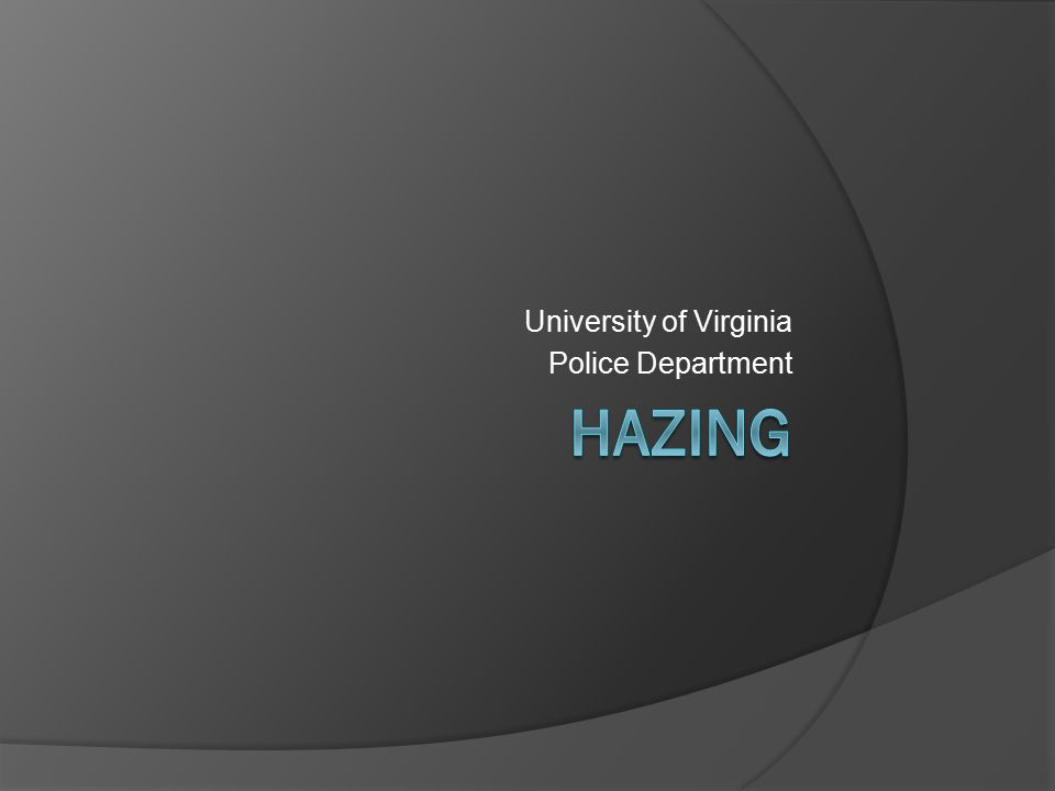 University of Virginia Police Department