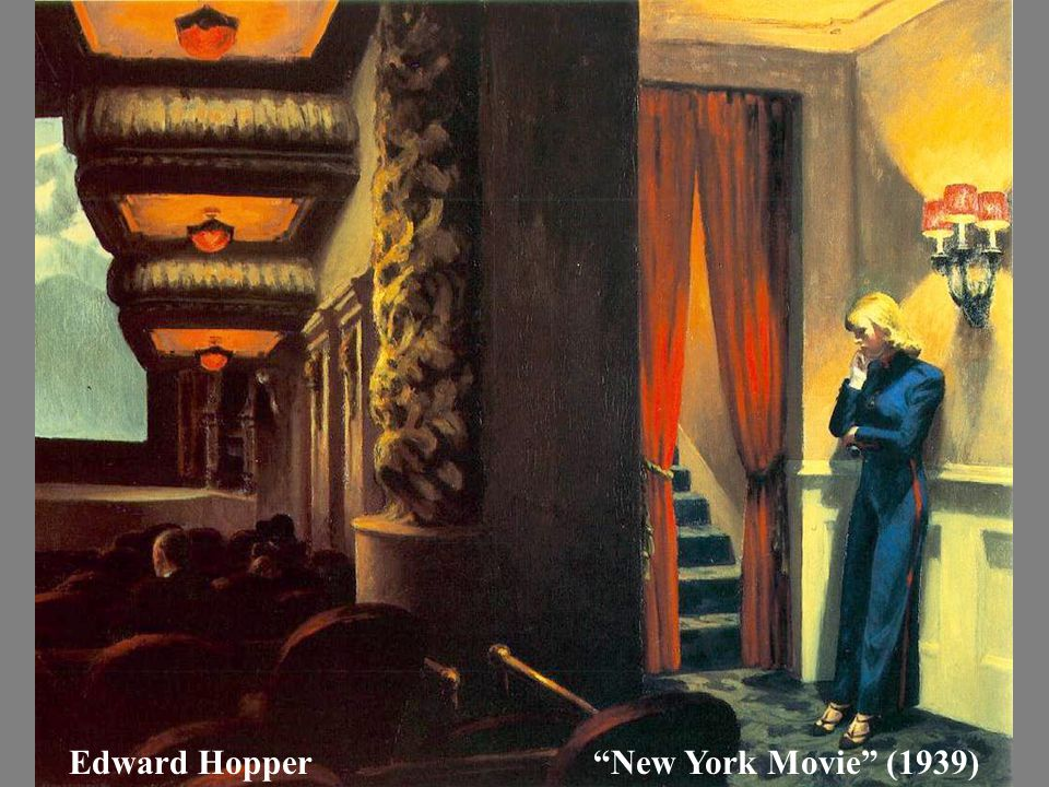 "Edward Hopper""New York Movie"" (1939)"