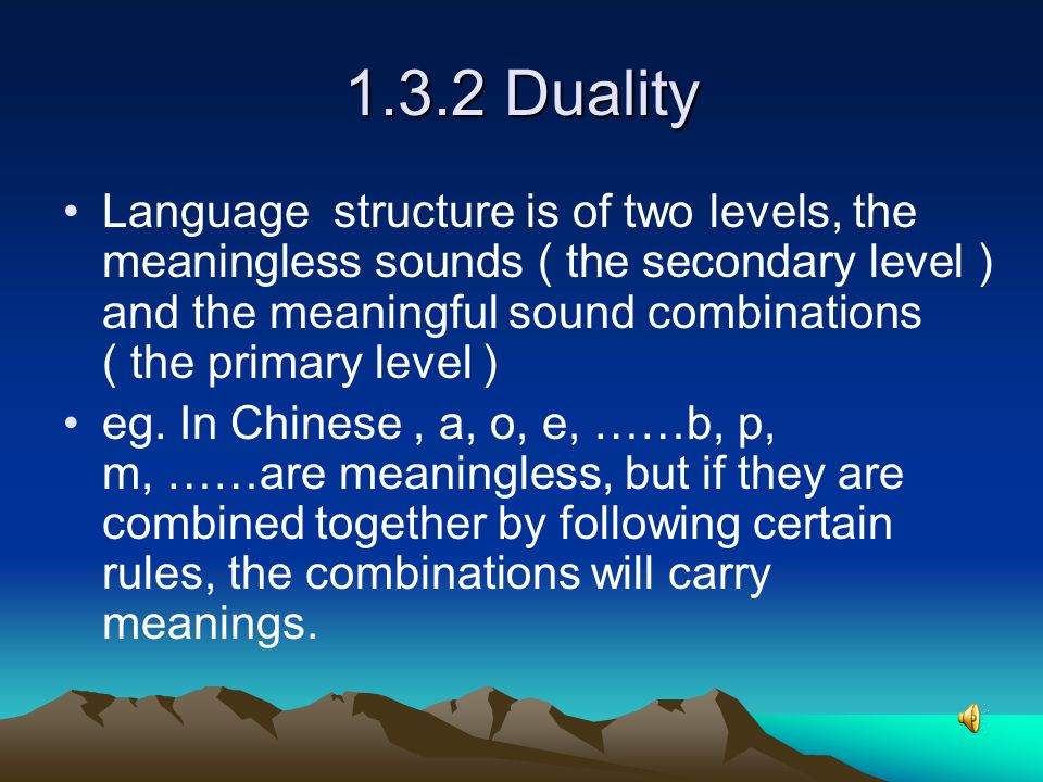 ( 3 ) Arbitrariness and convention (non- arbitrariness) Language is both arbitrary and conventional.