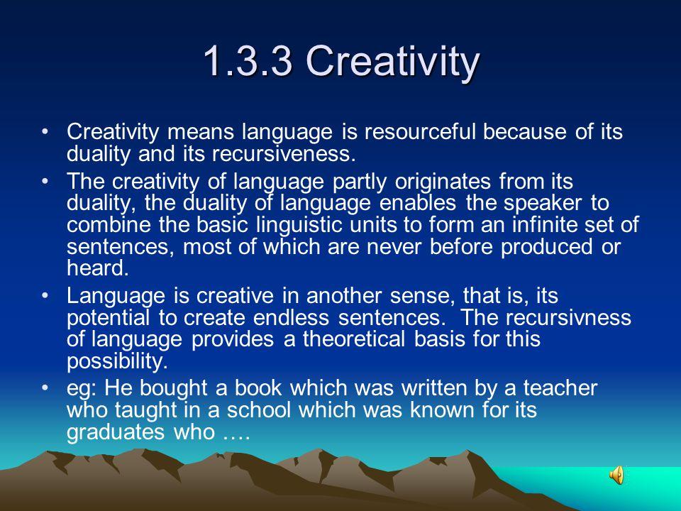 Language is hierarchical ( language is stratified) ↓Sounds ↓Syllables ↓Morphemes ↓Words ↓Sentences / utterances ↓Texts / discourses