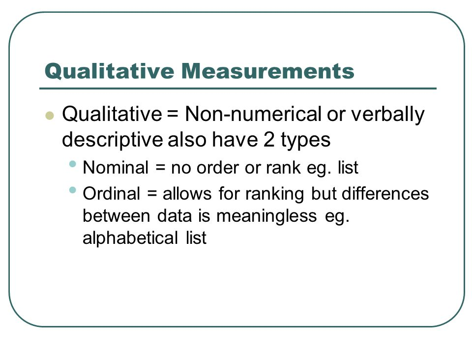 Instrument Insertion Error: Measurement process should not significantly alter phenomenon being measured Eg.