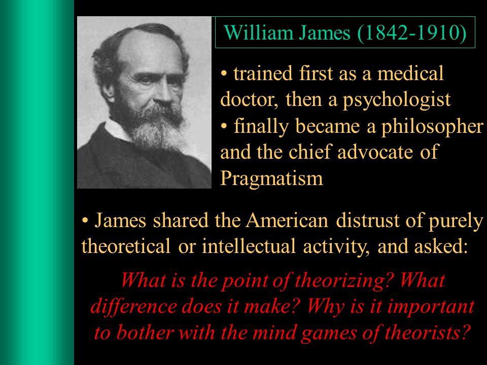 Pragmatism developed in the U.S.after the Civil War (ca.