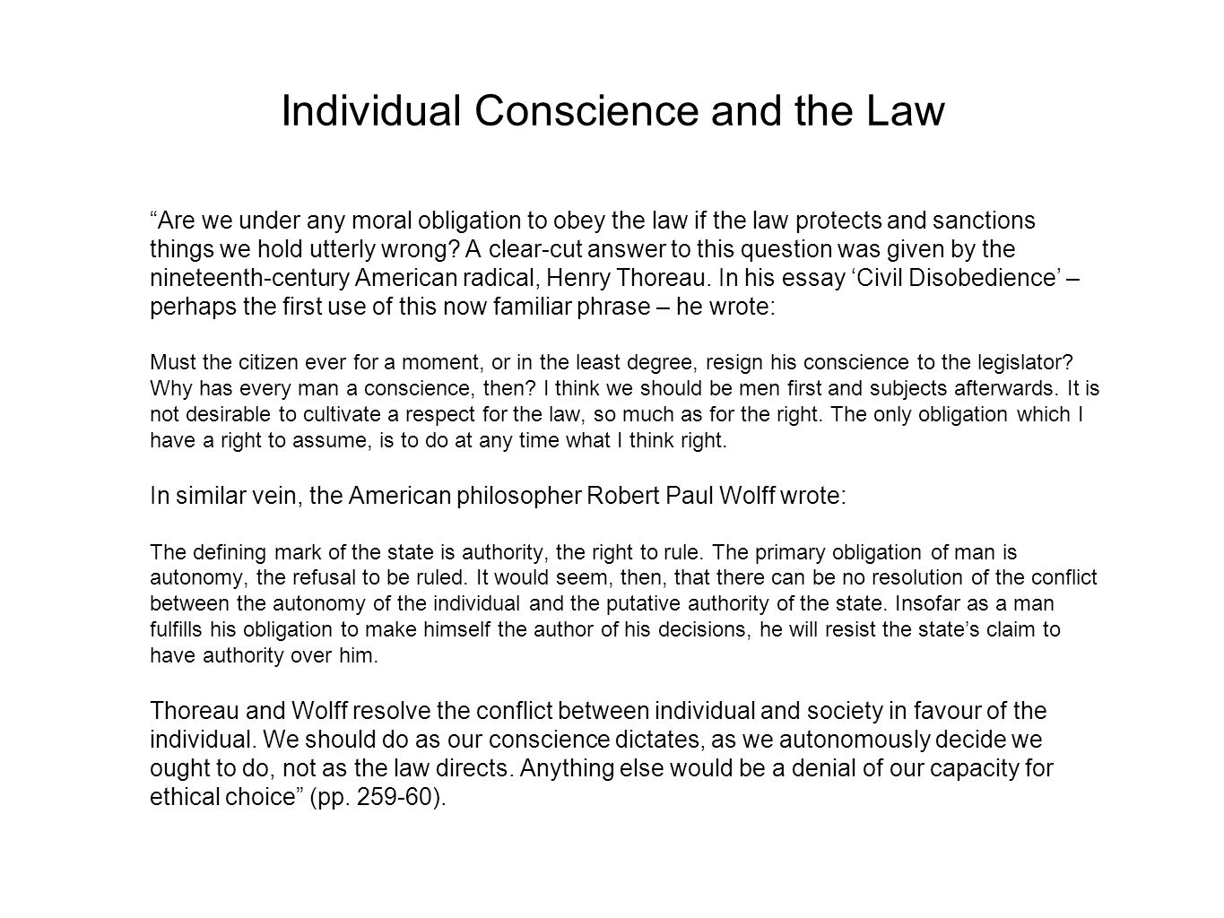 stolze philosophy notes on peter singer practical ethics  4 individual conscience