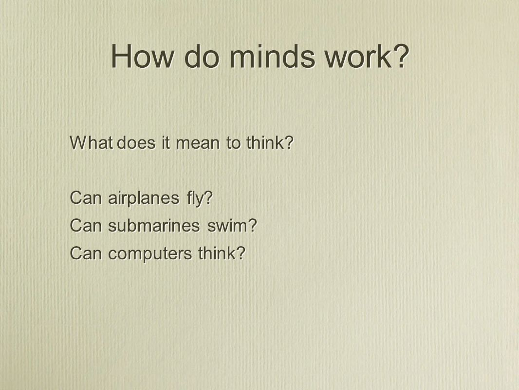 What is the relation between mind and brain.