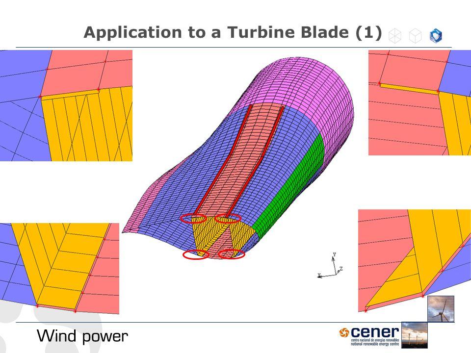 Application to a Turbine Blade (1)