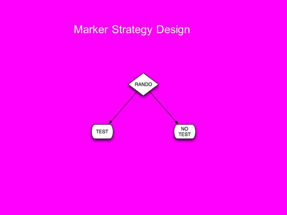Marker Strategy Design