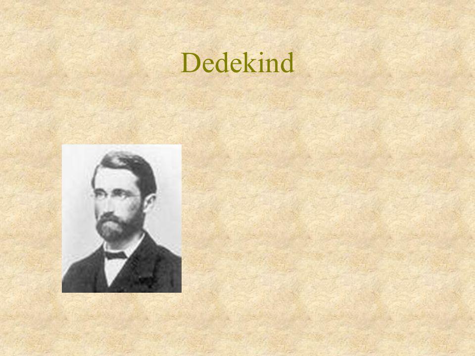 Dedekind & Kronecker