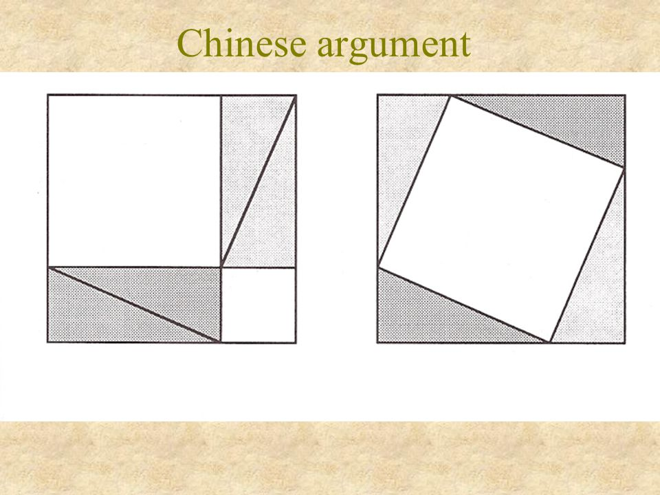 Chinese argument