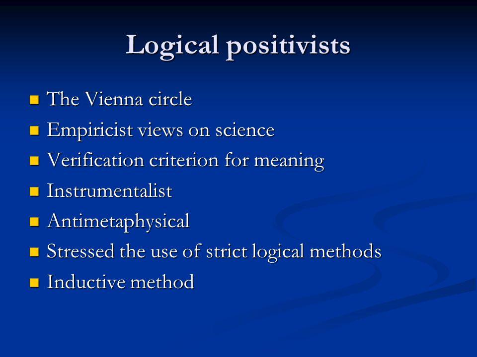 Should philosophers dictate scientific method.