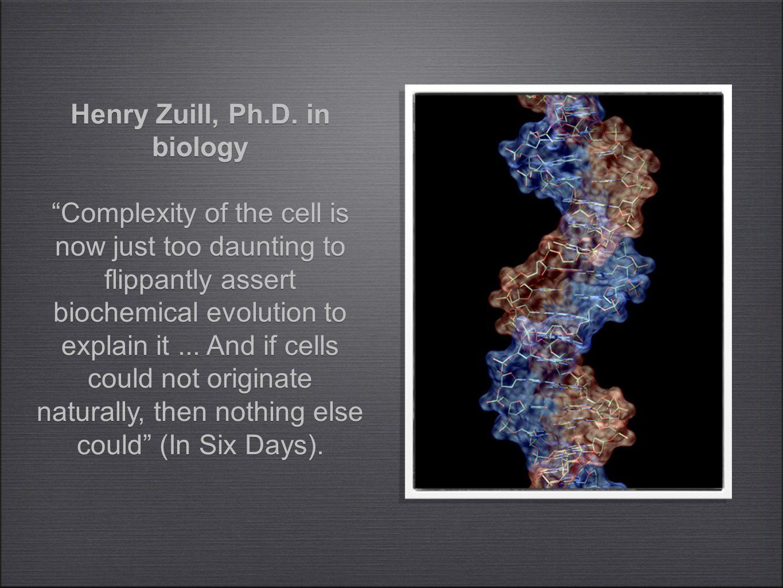 Henry Zuill, Ph.D.