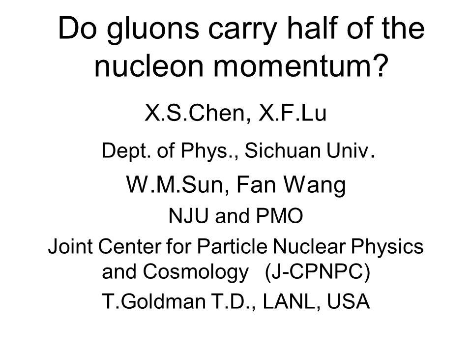 Three decompositions of angular momentum 1.