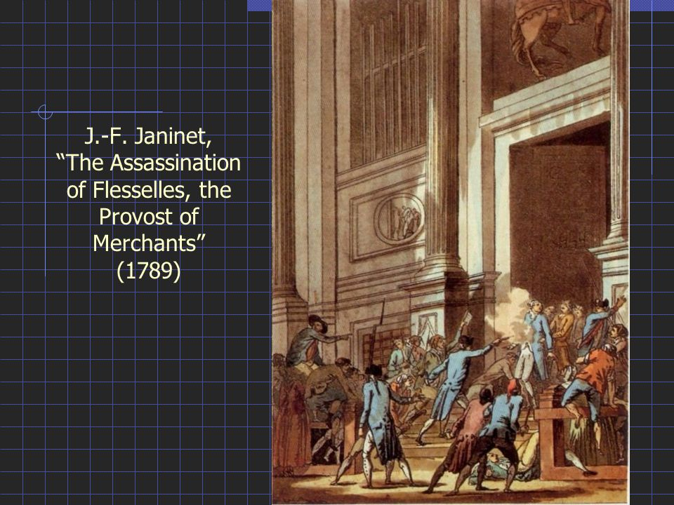 J.-F. Janinet, The Assassination of Flesselles, the Provost of Merchants (1789)