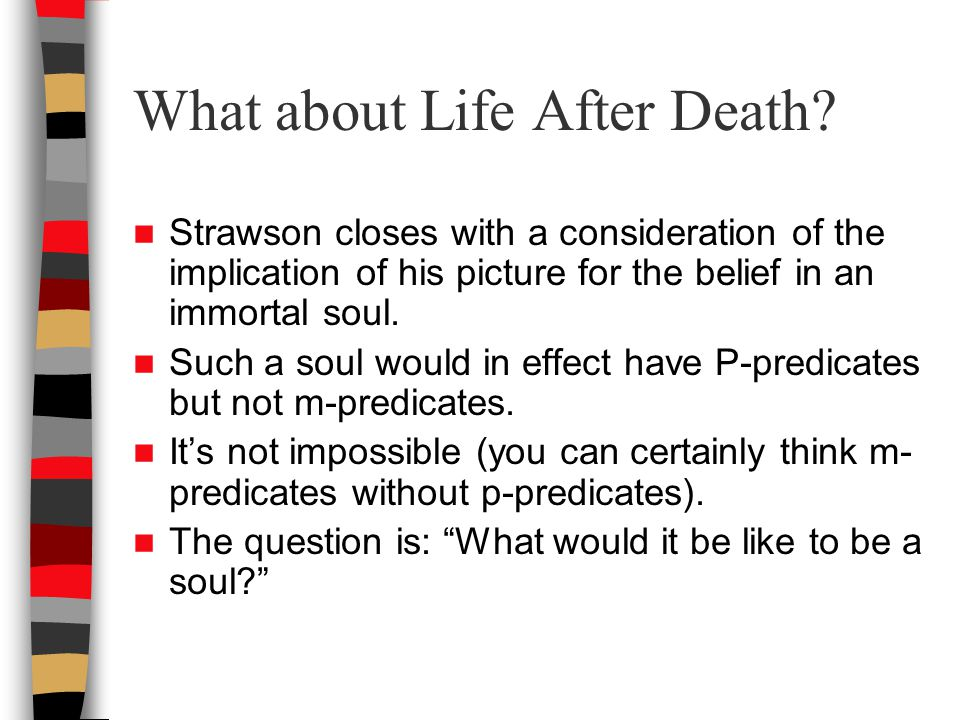 What about Life After Death.