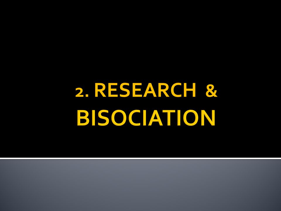 2. RESEARCH &