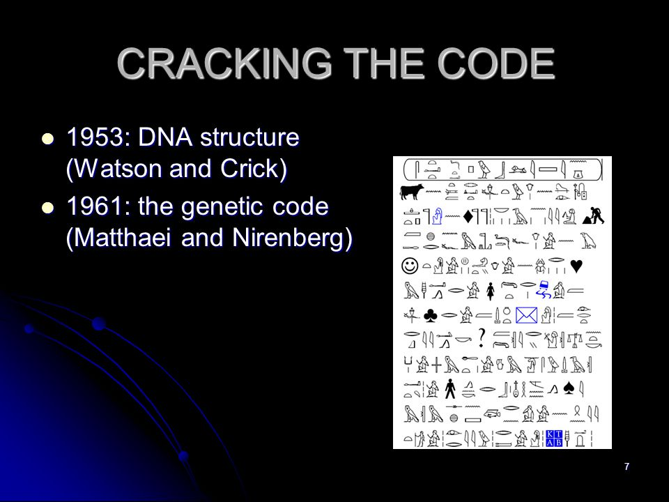 28 Summary-change in genetic code Primordial code: expansion of code from few to 20 a.a.'s Primordial code: expansion of code from few to 20 a.a.'s tRNA and aa-tRNA-Synthetases are invented → this enables codon swapping and code optimization tRNA and aa-tRNA-Synthetases are invented → this enables codon swapping and code optimization Ambiguity enables change Ambiguity enables change Most of these changes – in relatively 'simple' organisms.