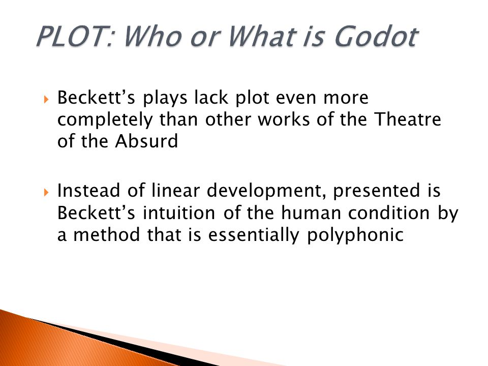 'If I knew, I would have said so in the play' [Beckett]  The uncertainties and irreducible ambiguities are an essential element of its total impact 