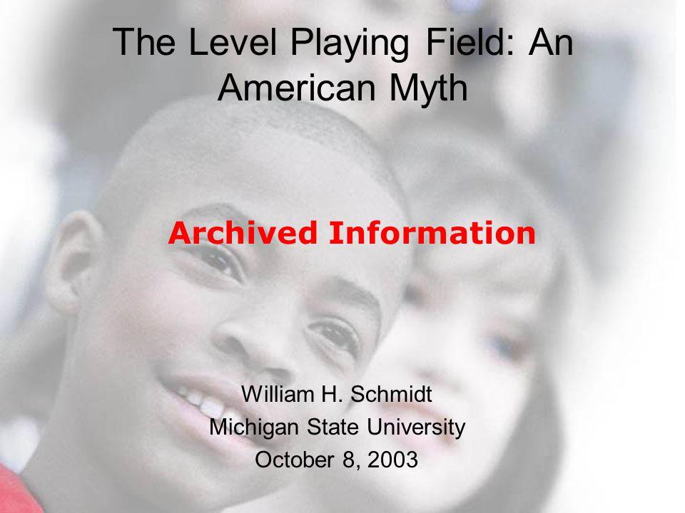 © 2003 Michigan State University Minimal Standards.