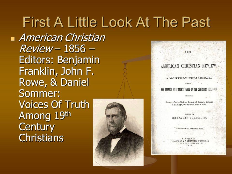 1st Century Christianity In A Postmodern World Avoids: Relativism – John 8:32; Rom.