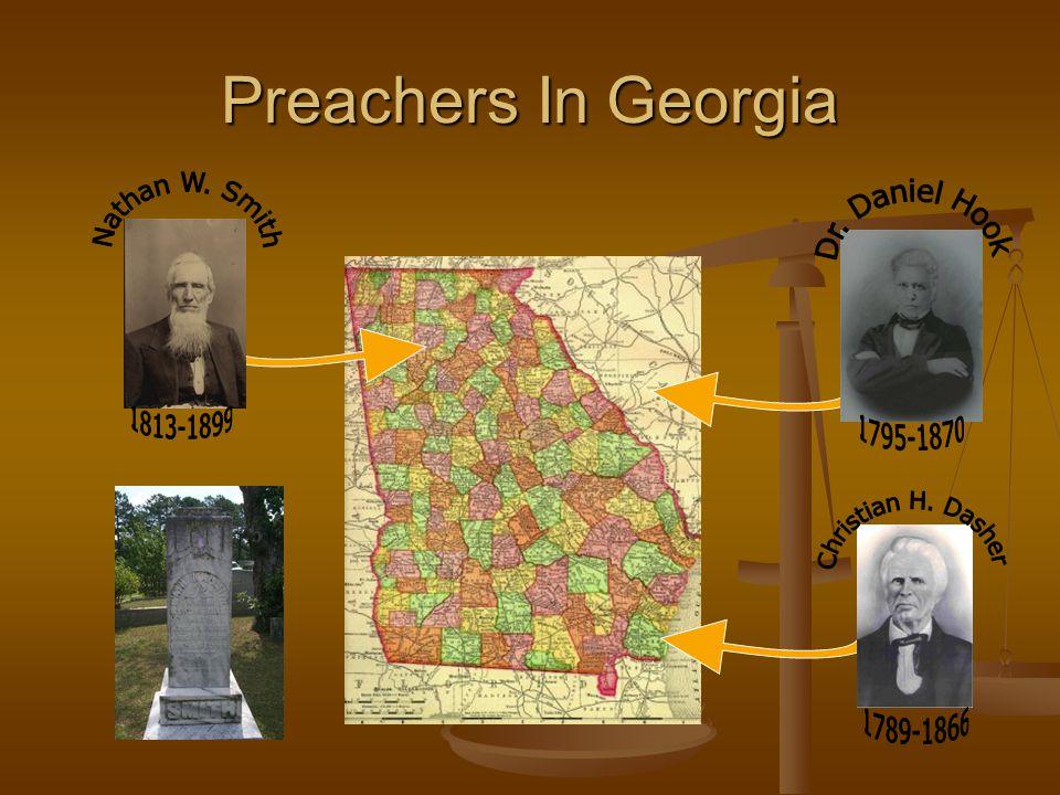Acworth/Marietta, Georgia Nathan W.Smith Strengthened Churches All Through North Georgia Nathan W.