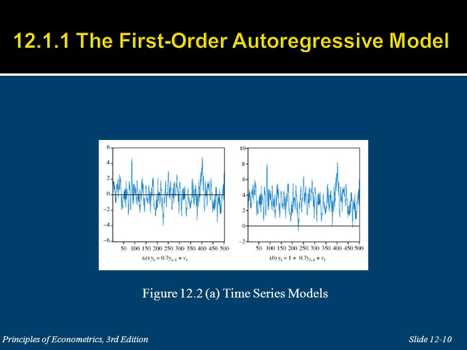 Figure 12.2 (a) Time Series Models