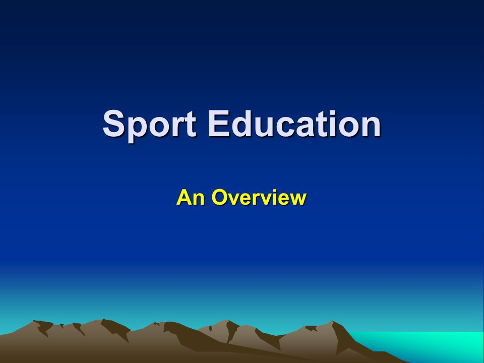 Student Roles in Sport Education All students participate as players then choose from among the following additional roles: Sports Board Member Manager Coach Captain Record Keeper/Statistician Publicist/Newspaper Reporter