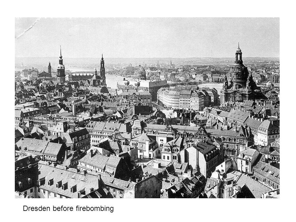Dresden before firebombing