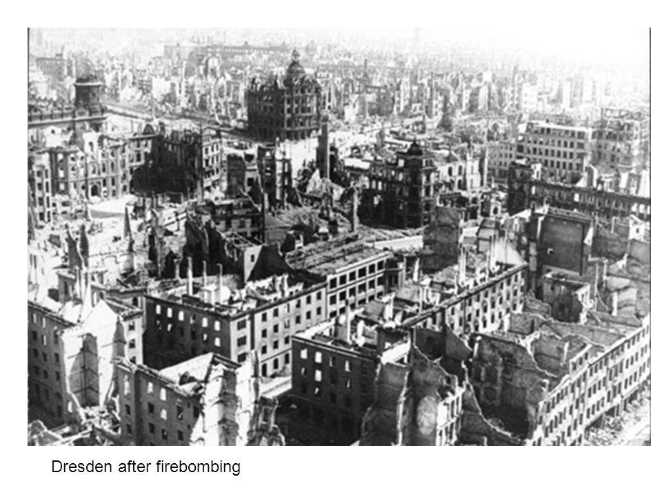 Dresden after firebombing