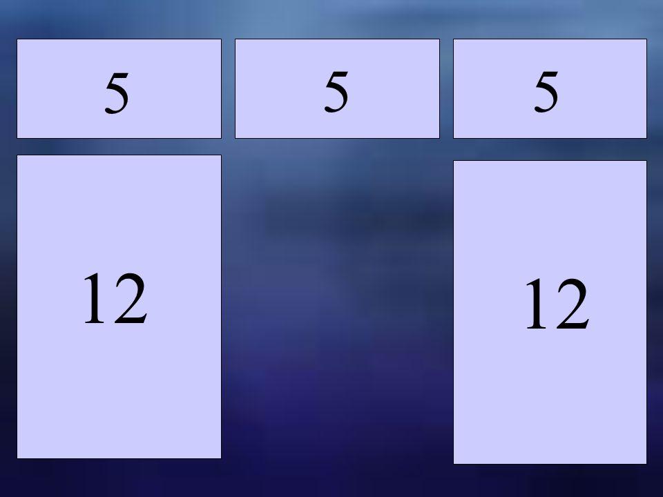 12 5 5 5