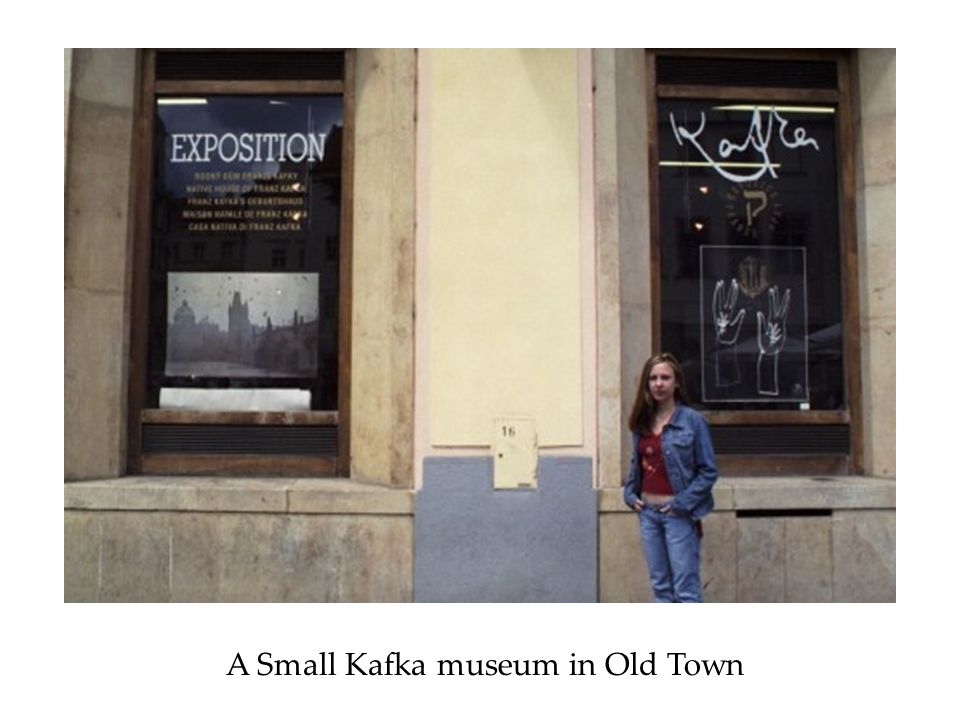 A Small Kafka museum in Old Town