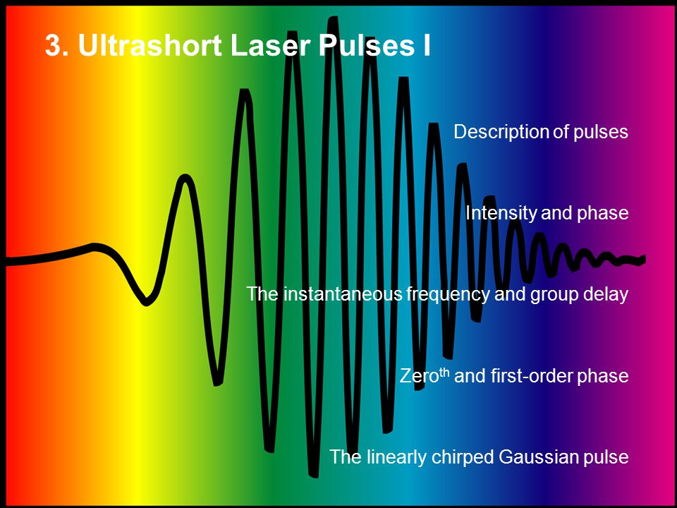 Transforming between wavelength and frequency.The spectrum and spectral phase vs.