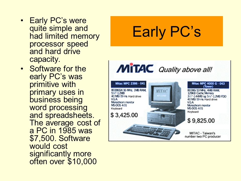 PC - What is it.