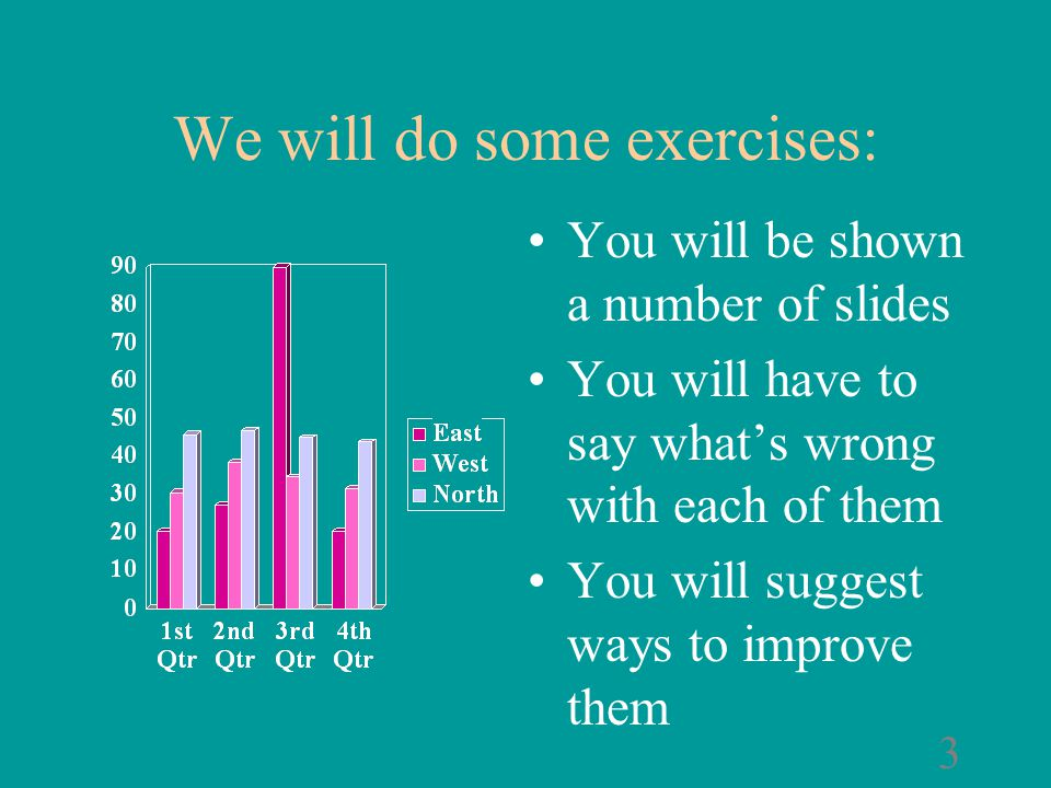 Some slides that need improvement A series of exercises ©1998 by Gilberto Berríos