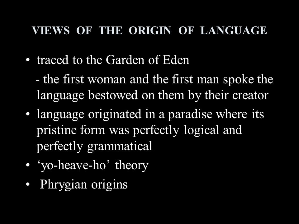 WHAT IS LANGUAGE .