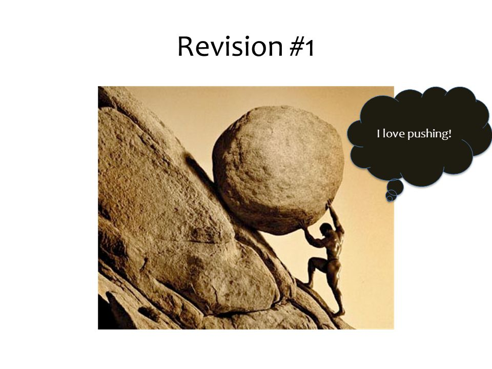 I love pushing! Revision #1