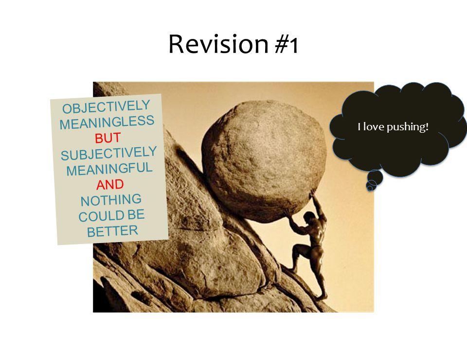 Revision #1 I love pushing.