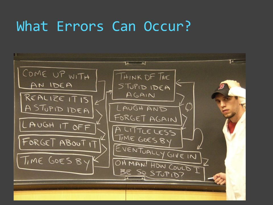 What Errors Can Occur?