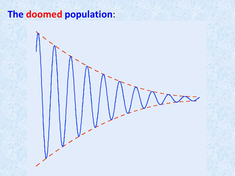 The doomed population: